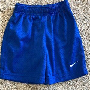 Boys Nike Athletic Shorts Size 4T